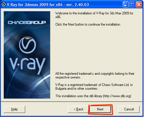 V-ray 2. 00. 02 for 3ds max 9, 2008, 2009, 2010, 2011 x32/x64.