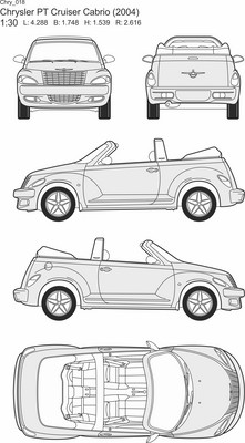 Chrysler PT Cruiser Cabrio (2004)