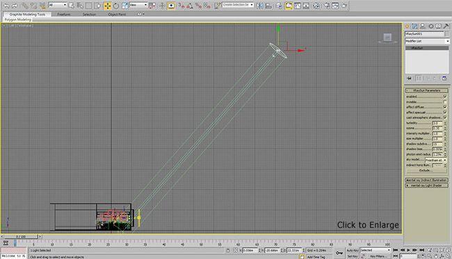 визуализации в 3d Max