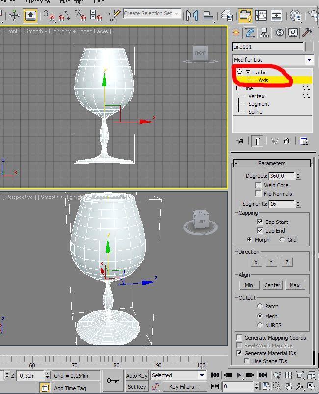 3D Max Создание Юбки