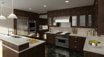 3d модели интерьера Кухни