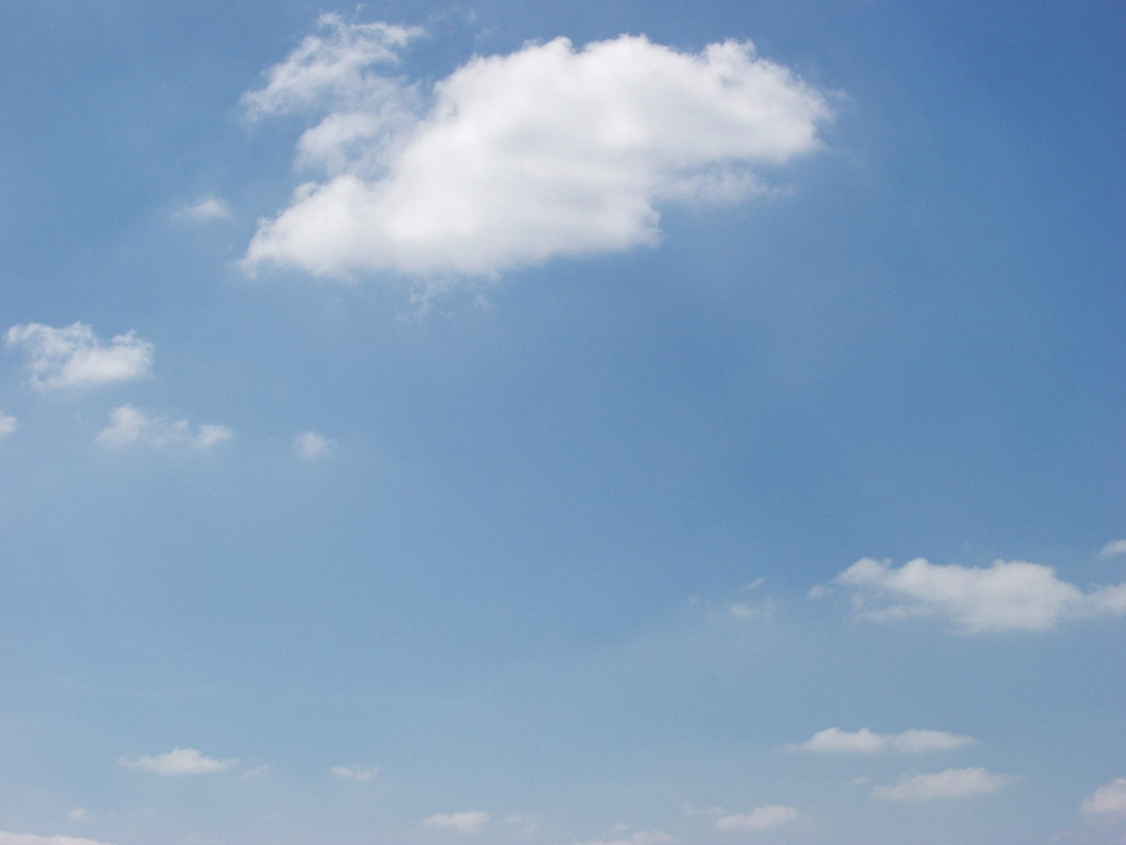 Картинка небо чистое небо